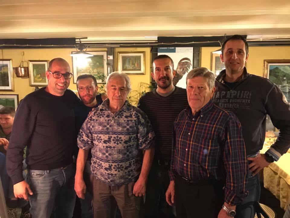 Il presidente Fumasoni con gli ex presidenti