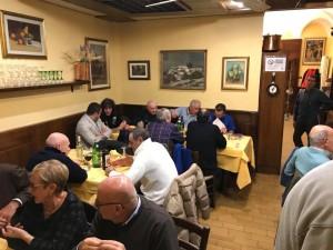 La cena alla Trattoria del Ponte